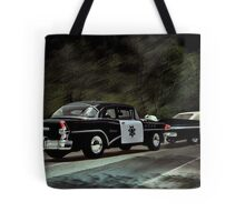 Highway Patrol Tote Bag