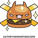 Kawaii - Cheeseburger French Cries Jolly Roger by Kathryn DiMartino