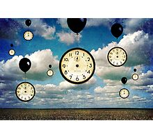 Time... Photographic Print