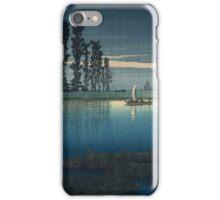 Japanese Print: Evening River iPhone Case/Skin