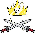 Kawaii - Crown and Swords by Kathryn DiMartino