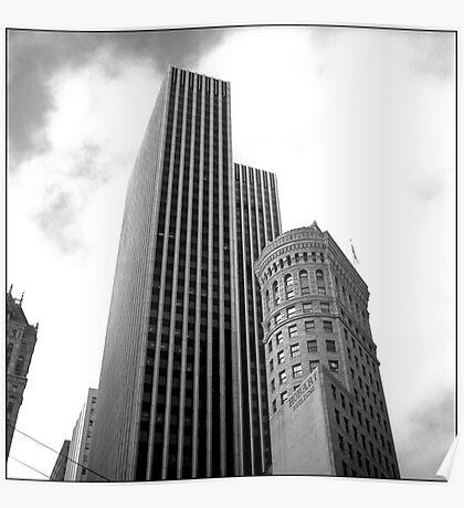 Hobart Building Poster
