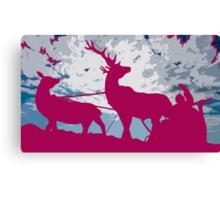 Pink Christmas Canvas Print
