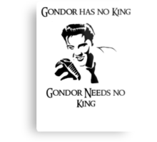 Gondor Lacks Elvis Metal Print