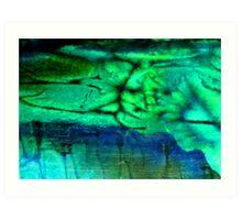 Lagoon Series Art Print