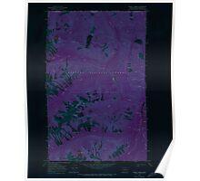 USGS Topo Map Washington State WA Frosty Creek 241235 1969 24000 Inverted Poster