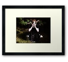 Prayers to a God I don't believe in Framed Print