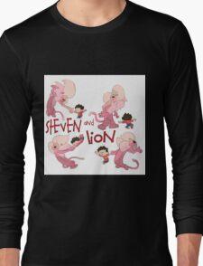Steven and Lion. Long Sleeve T-Shirt