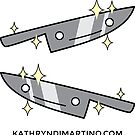 Kawaii - Kitchen Knives by Kathryn DiMartino