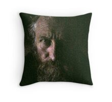 A Portrait of the Artist as He Is ... Throw Pillow