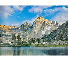 Mountains at morning Photographic Print