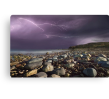 Fury Of Lightning Canvas Print