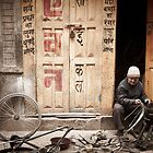 The Bike Shop Kathmandu by EveW