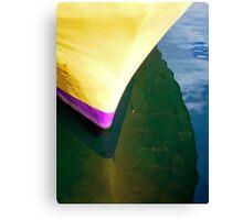 Yellow Hull Canvas Print