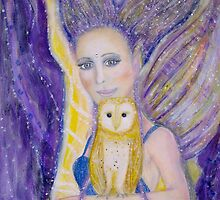 The owl keeper by Lilaviolet