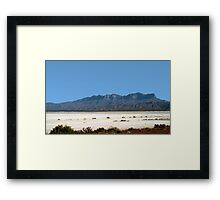Somewhere In West Texas Framed Print