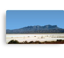 Somewhere In West Texas Canvas Print