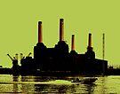 Battersea Power Station, London by Jasna