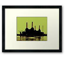 Battersea Power Station, London Framed Print