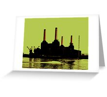 Battersea Power Station, London Greeting Card