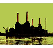 Battersea Power Station, London Photographic Print