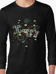 Happy Tee Long Sleeve T-Shirt
