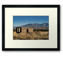 ..But It Has A Nice View.. Framed Print