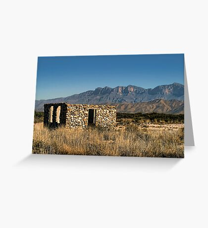 ..But It Has A Nice View.. Greeting Card