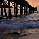 Jetty Sunset by Robyn Forbes