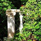 Deserted column  Zante Greece by mikequigley