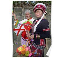 Irish Chinese celebrate St Pats day Poster