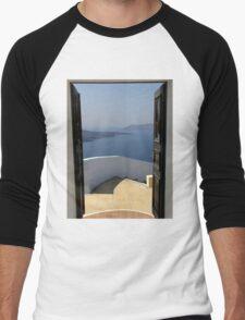 Doorway to Heaven - Santorini Greece T-Shirt