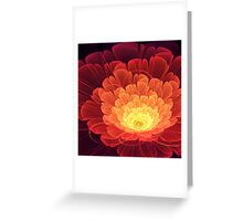 Phoenix Rose Greeting Card