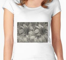 Abstract worlf of flowers 2 Women's Fitted Scoop T-Shirt