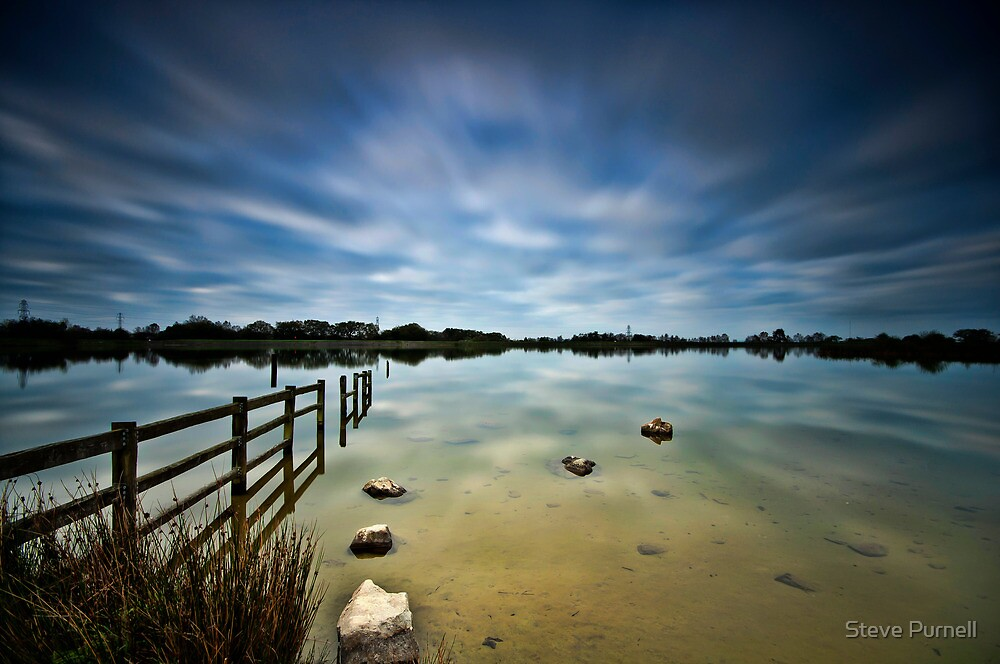 Lake Long Exposure by Steve Purnell