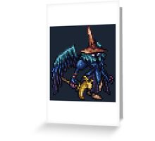 Black Waltz 3 (BLM) boss sprite - FFRK - Final Fantasy IX (FF9) Greeting Card