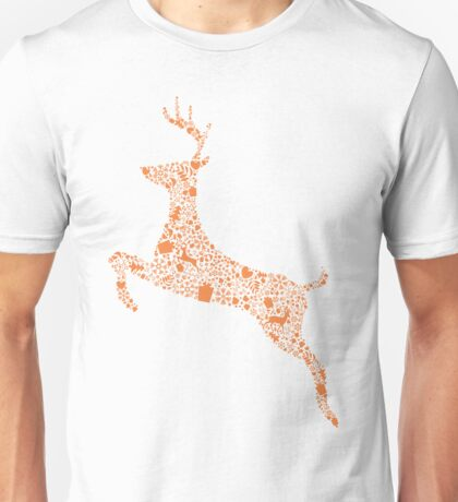 Christmas Reindeer 1 Unisex T-Shirt