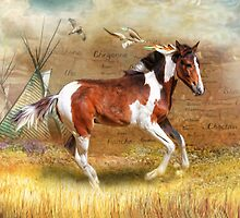 Little Apache by Trudi's Images