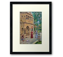 Purnamasi at Kirtidas house Framed Print