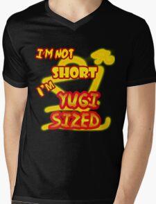 I'm not short, I'm Yugi Sized! Mens V-Neck T-Shirt