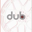dub - rim 2 wht by Benjamin Whealing