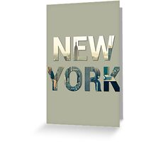 New York City (Sandstone) Greeting Card