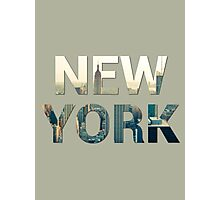 New York City (Sandstone) Photographic Print