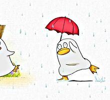 Elizabeth in the Rain by silvarian297