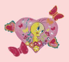 Birds, Hearts & Butterflies oh my! One Piece - Long Sleeve