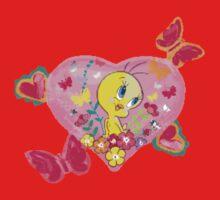 Birds, Hearts & Butterflies oh my! One Piece - Short Sleeve