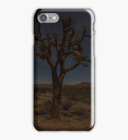 Joshua Tree at night iPhone Case/Skin