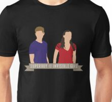 Superboy and the Invisible Girl Unisex T-Shirt