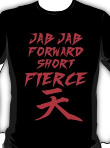 Jab Jab Forward Short Firece  T-Shirt