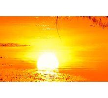 The rising sun Photographic Print